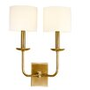 <strong>Kings Point 2 Light Wall Sconce</strong> by Hudson Valley Lighting