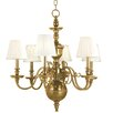 <strong>Hudson Valley Lighting</strong> Charleston 6 Light Chandelier