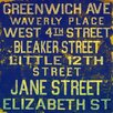 Jen Lee Art Jane Street Textual Art on Canvas