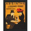 North American Art 'Absinthe' by Vintage Apple Framed Vintage Advertisement