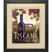 <strong>North American Art</strong> 'Wine Festival I' by Marco Fabiano Framed Vintage Advertisement