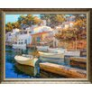 North American Art 'Cala Figuera 24' by Alex Hook Krioutchkov Framed Painting Print