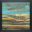 <strong>North American Art</strong> 'High Plains 3' by Scott Hile Framed Painting Print