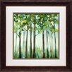 North American Art 'Tranquil View I' by Rita Vindedzis Framed Painting Print