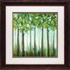 North American Art 'Tranquil View II' by Rita Vindedzis Framed Painting Print
