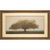 North American Art 'Oak in the Fog' by William Guion Framed Photographic Print