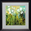 <strong>'White Tulips I' by Jennifer Harwood Framed Painting Print</strong> by North American Art