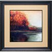 <strong>North American Art</strong> 'Touch of Gold' by Asia Jensen Framed Painting Print
