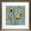 <strong>North American Art</strong> 'Sun Poppies I' by Jennifer Goldberger Framed Painting Print