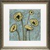 North American Art 'Sun Poppies I' by Jennifer Goldberger Framed Painting Print