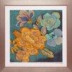 North American Art 'Trousseau Chintz I' by Chariklia Zarris Framed Painting Print