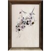North American Art 'Daisies' by Hannah Pontin Framed Graphic Art