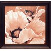 North American Art 'Sepia Summer' by Maggie Thompson Framed Painting Print