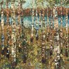 North American Art 'Birch' by Carmen Dolce Painting Print on Canvas