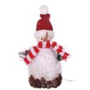 Oddity Inc. LED Snowman with Hat and Scarf Decoration