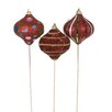 <strong>3 Piece Ornament Pick Assortment Statue Set</strong> by Oddity Inc.