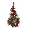 Oddity Inc. Pinecone Berry Candle Climber (Set of 6)