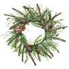 Oddity Inc. Berry Ice Pine Cone Wreath