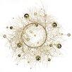 Oddity Inc. Glitter Pine Ball Wreath