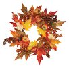 <strong>Oddity Inc.</strong> Maple Leaf Pumpkin Berry Candle Ring