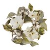 Oddity Inc. Hydrangea and Berry Pine Candle Ring (Set of 4)