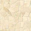 Bedrosians Hemisphere Crazy Stone Glazed Mosaic Tile in Bali White