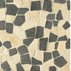 Bedrosians Hemisphere Random Sized Crazy Stone Unpolished Mosaic Tile in Island Blend
