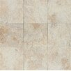 "Bedrosians Rok Textured Ink Jet 13"" x 13"" Porcelain Tile in Calcare"