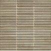 "Bedrosians Shizen Straight Joint 1/2"" x 4"" Porcelain Mosaic Tile in River"