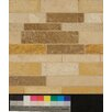 Bedrosians Random Sized Travertine Matte Mosaic in Blend Linear