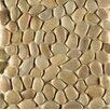 Bedrosians Hemisphere Random Sized Pebble Stone Mosaic Tile in Antigua