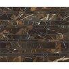 Bedrosians Random Linear Marble Polished Mosaic Tile in Michelangelo