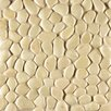 Bedrosians Hemisphere Random Sized Pebble Stone Mosaic Tile in Bali White