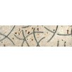 "Bedrosians Rok Listelo Deco 2"" x 6.5"" Porcelain Mosaic Tile in Light Metal"