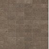"Bedrosians Tribeca 2"" x 1"" Porcelain Mosaic in Brown"