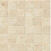 "Bedrosians Marmi Di Napoli 2"" x 2"" Porcelain Unpolished Mosaic in Creme Brulee"