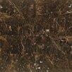 """Bedrosians 12"""" x 24"""" Marble Polished Tile in Emperador Dark"""