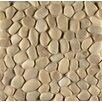 Bedrosians Hemisphere Pebble Stone Unglazed Mosaic Tile in Balboa