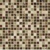 Bedrosians Eclipse Mosaic Blend Tile in Merlot