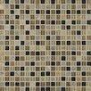 "Bedrosians Elume 0.63"" x 0.63"" Stone and Glass Mosaic Tile"