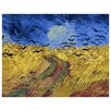 <strong>'Wheat Field with Crows' by Vincent Van Gogh Painting Print on Canvas</strong> by Epic Art
