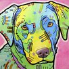 <strong>Epic Art</strong> 'Labrador' by Dean Russo Graphic Art on Canvas