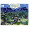 <strong>Epic Art</strong> 'Olive Trees' by Vincent Van Gogh Painting Print on Canvas