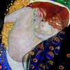 <strong>Epic Art</strong> 'Danae' by Gustav Klimt Painting Print on Canvas