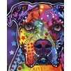 <strong>Epic Art</strong> 'American Bulldog' by Dean Russo Graphic Art on Canvas