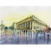 Epic Art 'Grand Theatre' by Nicolas Jolly Painting Print on Canvas