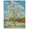 <strong>Epic Art</strong> 'Pink Peach Tree in Blossom' by Vincent Van Gogh Painting Print on Canvas