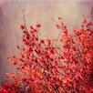 Epic Art 'Autumn' by Iris Lehnhardt Photographic Print on Canvas in Red