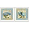 Epic Art French Country 2 Piece Framed Graphic Art Set