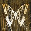 Epic Art Butterflies and Leaves I Graphic Art